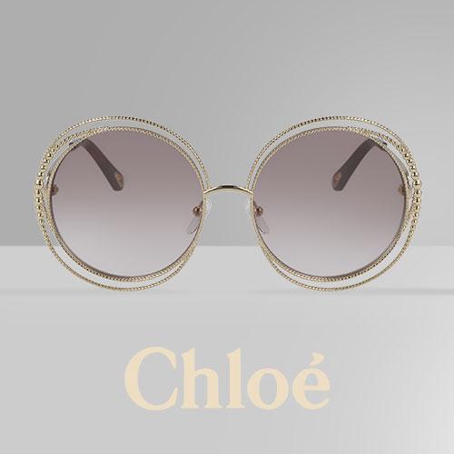 377002fac1629a De Chloé zonnebril Carlina is in een nieuw jasje gestoken